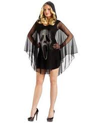 womens ghost halloween costumes ghost poncho face costume women halloween costumes