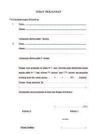 format surat kuasa jual beli rumah contoh surat perjanjian untuk komisi penjualan anekacontoh