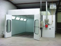chambre de peinture automobile cabine de peinture pour véhicule léger cabine de peinture