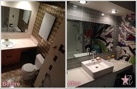wallpaper bathroom designs paint and wallpaper u2014 rockstar remodel
