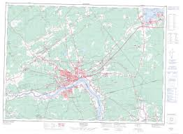 Moncton Canada Map by Moncton Nb Maps Online Free Topographic Map Sheet 021i02 At 1 50 000