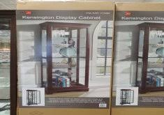 pulaski curio cabinet costco costco glass cabinet home design