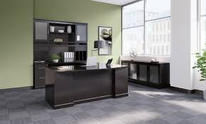L Shaped Bathroom Suite Mayline Sorrento Series 4 Piece U Shape Desk Office Suite
