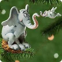 horton hatches the egg coloring pages amazon com hallmark 2001 horton hatches the egg ornament home