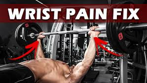 Dumbbell Bench Press Form 4 Tips To Eliminate Bench Press Wrist Pain Wrist Injury