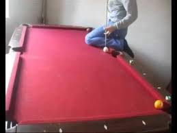 Sportscraft Pool Table Red Pool Table Youtube
