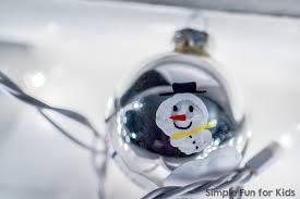 handprint snowmen ornaments simple for