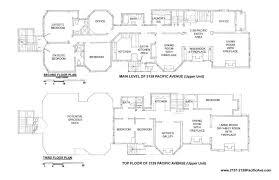 Family Compound Floor Plans 2137 Pacific Avenue San Francisco Ca 94115 Sotheby U0027s