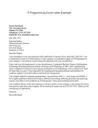 programmer cover letter sample resume format nursing home