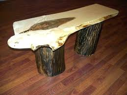 wood slice end table table made out of tree slice table made out of tree slice log slab