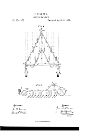 patent us176375 improvement in shovel harrows google patents
