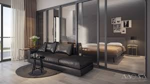 Glass Walls by 3 Modern Studio Apartments With Glass Walled Bedrooms