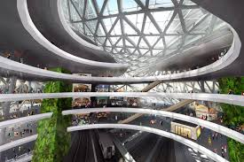 architect designs new transit hub straight out of u0027the jetsons