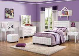 White Gloss Bedroom Shelves Bedroom Ideas Purple Girls Bedroom With White Leather Twin Bed