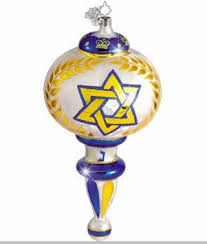 hanukkah ornaments christopher radko david s dazzler hanukkah ornament retired and