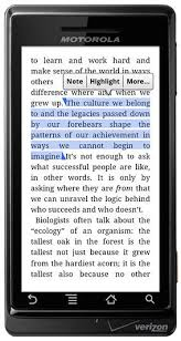 kindle for android spruces up kindle android app but cnet