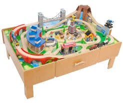 thomas the train wooden track table thomas the train or chuggington train table