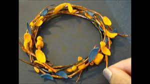 how to make halloween wreath gumpaste youtube
