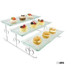 tiered serving stand 3 tier server tiered serving platter stand trays for