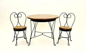 ice cream parlor table and chairs set antique reproduction child ice cream parlor furniture set table and