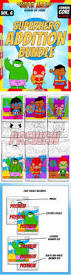 addition bundle editable color by code super math math