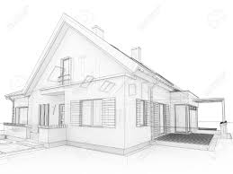 100 modern house drawing perspective 3d floor plan cross