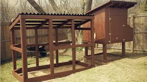 easy to clean backyard suburban chicken coop free plans youtube