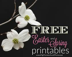free spring printables and easter printables hip homeschool moms