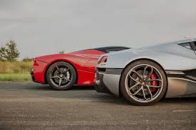 fastest lamborghini vs fastest ferrari concept one vs tesla p90d vs laferrari rimac automobili