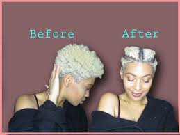 tapered twa 4c hairstyles natural hair easy way to style a tapered twa faux undercut flat