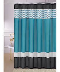 Gray And Teal Shower Curtain Teal And Black Shower Curtain Love The Black White And Teal