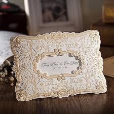 wedding invitations luxury retro european wedding invitation cards luxury gold flora pattern