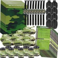 Camouflage Favors by Camouflage Favor Pack City Ideas