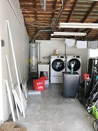 simply done beautiful diy garage laundry space organized simply beautiful diy garage laundry space organized