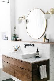 mid century bathroom lighting at home with sophie carpenter sfgirlbybay carpenter round