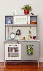 mini cuisine uip ikea glammed up ikea play kitchen ikeahack because it s awesome one
