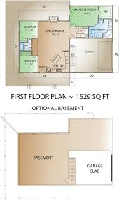 hogan creek log home floor plan from countrymark