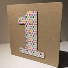 one year old little boy birthday card cards and scrapbooking