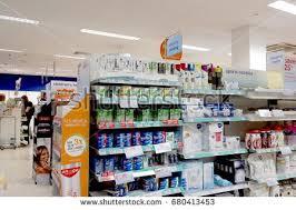 boots sale uk chemist reading uk june 17th 2017 shelf stock photo 680413453