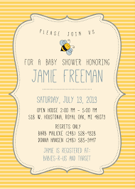 photo baby bumble bee baby shower image