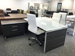 Glass Office Desks Executive Glass Desk Wonderful Executive Glass Office Desk