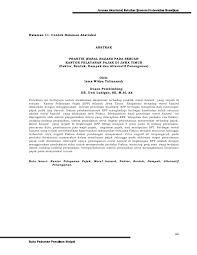 skripsi akuntansi ekonomi pedoman skripsi jur akuntansi