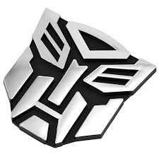 peugeot car symbol transformers autobots logo symbol car decal sticker badge amazon