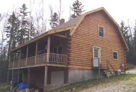Gambrel Style Roof Coventry Log Homes Our Log Home Designs Craftsman Series The