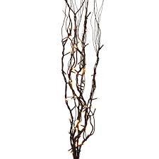 pre lit branches led lighted branches willow branches