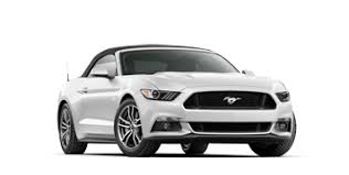 white ford mustang convertible 2017 ford mustang sports car 1 sports car for 45 years