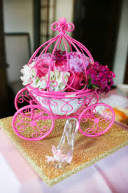 princess carriage centerpiece princess centerpieces for baby shower best inspiration from