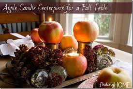simple and easy thanksgiving centerpiece ideas using candles