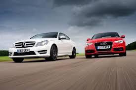 audi mercedes mercedes c class coupe vs audi a5 auto express