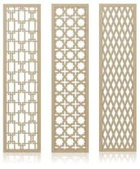 Quatrefoil Room Divider Notre Dame Quatrefoil Room Divider Screen 24x80 Mdf 213 The